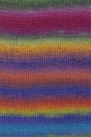 LANG Yarns Mille Colori Baby - 0050 Geel-Oranje-Blauw