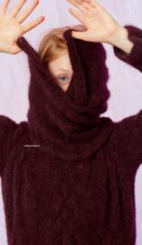 LANG Yarns Passione Kabeltrui met sjaal