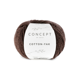 Katia Concept - Cotton-Yak - 123 Donker Bruin
