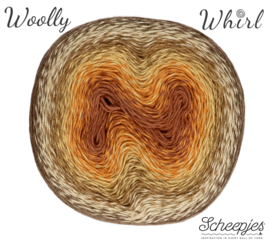 Scheepjes Whoolly Whirl - 471  Chocolate Vermicelli
