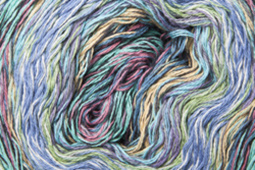 Katia Funny Rainbow - 105 Blauw-Flessengroen-Kaki-Bruin