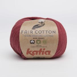 Katia Fair Cotton - 27 Wijnrood