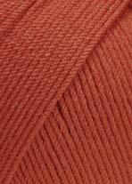 LANG Yarns - Merino 130 Compact - 0061 OranjeRood