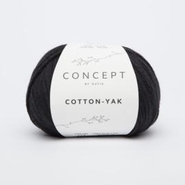Katia Concept - Cotton-Yak - 114 Zwart