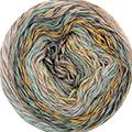 Katia Funny Rainbow - 108 Groen - Bleekbruin - Beige - Geel