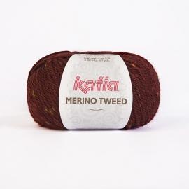 Katia Merino Tweed - 407 Wijnrood
