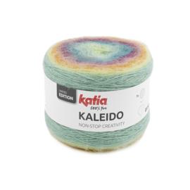 Katia Kaleido 307 Bleekrood-Pastelblauw-Pastelgeel-Licht oranje