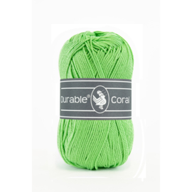 Durable Coral Katoen - 2155 Apple Green