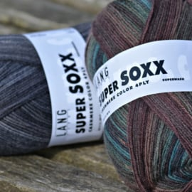 LANG Yarns - Super Soxx Color 4-Draads