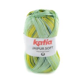 Katia - Jaipur Soft 106 Blauw - Groen - Citroengeel