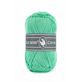 Durable Coral Katoen - 2138 Pacific Green