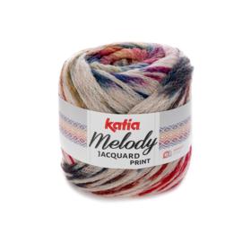 Katia Melody Jacquard Print - 504 Beige-Roestbruin-Groenblauw