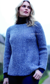 ROWAN Felted Tweed Trui Bennet