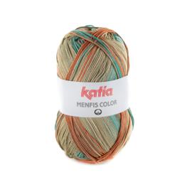 Katia Menfis Color - 110 Beige-Groen-Roestbruin