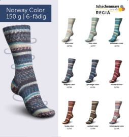 REGIA Norway Color 6-draads