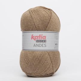 Katia Andes Socks - 201 Camel