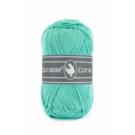 Durable Coral Katoen - 338 Aqua