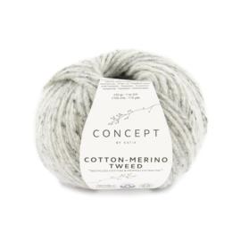 Katia Concept - Cotton-Merino Tweed 506 Grijs