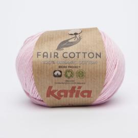 Katia Fair Cotton - 09 Bleekrood