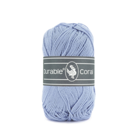 Durable Coral Katoen - 319 Blue