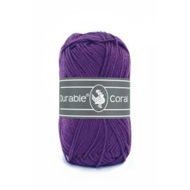 Durable Coral Katoen - 271 Violet