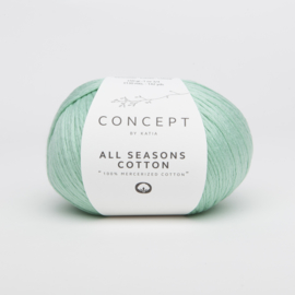 Katia Concept - All Seasons Cotton - 18 Witgroen