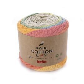 Katia - Fair Cotton Craft 503 Beige-Veelkleurig