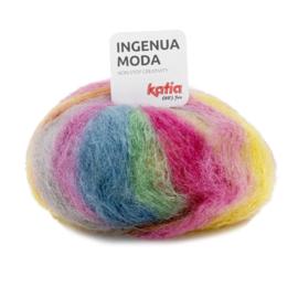 Katia Ingenua Moda - 104 Bleekrood - Geel - Groen - Blauw