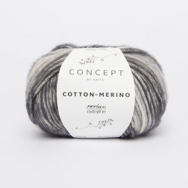 Katia Concept - Cotton-Merino PLUS 206 Grijs