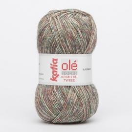 Katia Komfort Tweed - 66 Groen-Rood