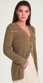 Rowan Cotton Cashmere Vest Hessian