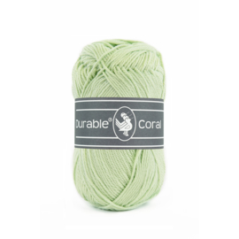 Durable Coral Katoen - 2158 Light Green