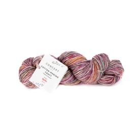 Katia Concept - Cotton-Merino Craft - 201 Koraal-Lila-Oranje
