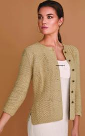 ROWAN Handknit Cotton Vest Raffia