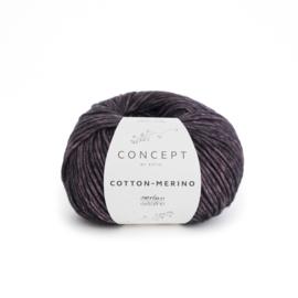 Katia Concept - Cotton-Merino 054 Bleekrood-Zwart
