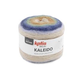 Katia Kaleido 304 Camel-Kaki-Blauw