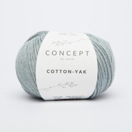 Katia Concept - Cotton-Yak - 110 Hemelsblauw