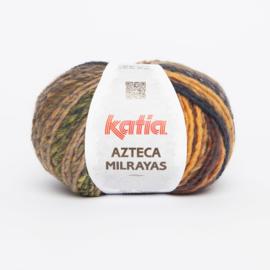 Katia Azteca Milrayas - 711 Wijnrood-Oker-Oranje-Rood