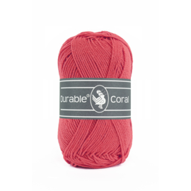 Durable Coral Katoen - 221 Holy berry