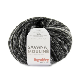 Katia Savana Mouline 200 Wit - Grijs - Zwart