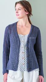 Rowan Cotton Cashmere Vest Picasso