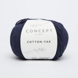Katia Concept - Cotton-Yak - 115 Donker Blauw