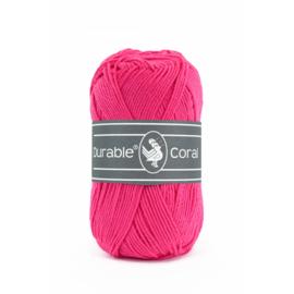 Durable Coral Katoen - 236 Fuchsia