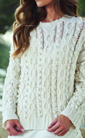 ROWAN Cotton Cashmere Trui