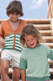 Katia Tencel Cotton Kindervest en Capri Kindertrui