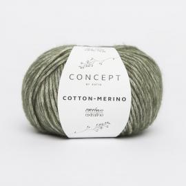 Katia Concept - Cotton-Merino 122 Bleek Groen