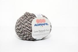 Adriafil Lana Naturale Inca - 70 Moulinet Anthracite Grey/Beige
