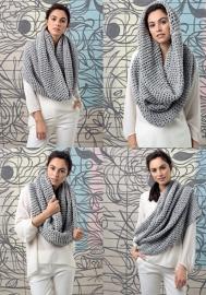 Vrijdag 22-04-2016 LANG Yarns Amira ronde sjaal