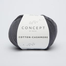 Katia Cotton Cashmere - 61 Donker grijs