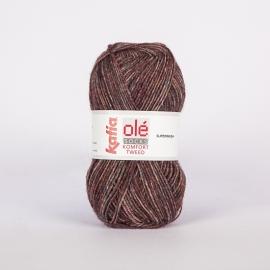Katia Komfort Tweed - 59 Wijnrood-Grijs